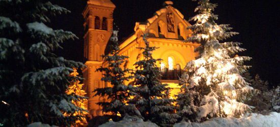 Romantische Weihnachten in den Bergen