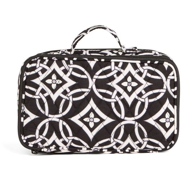 Vera Bradley Blush and Brush Makeup Case in Concerto ($29) ❤ liked on Polyvore featuring beauty products, beauty accessories, bags & cases, concerto, purse makeup bag, travel bag, cosmetic bags, make up bag and toiletry kits