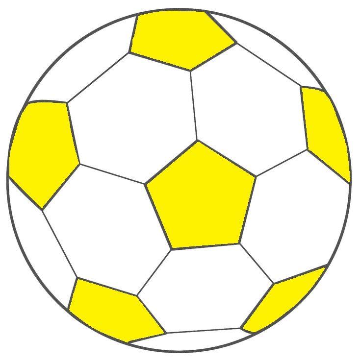 voetbal  geel