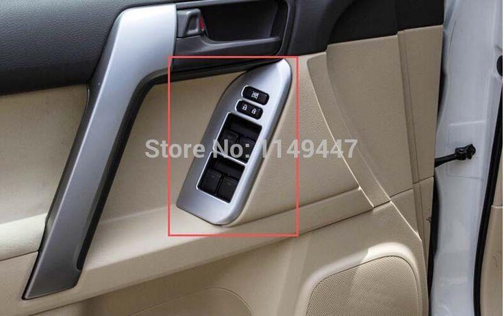 Abs Door Handle Holder Window Lift Swifch Cover Trim For Toyota Prado Fj150 2014 2015 Door Handles Prado Toyota