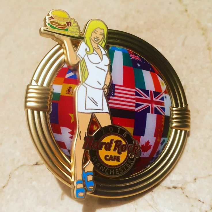 NEW PIN ALERT! Our #WorldBurgerTour pin is on sale now! #ThisIsHardRock