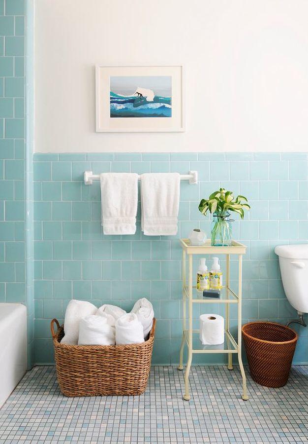 8 muebles auxiliares para el baño (DIY & obra) #hogarhabitissimo