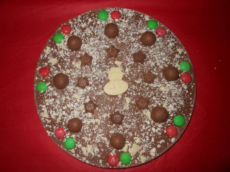Chocolate pizza - Annie Rogers