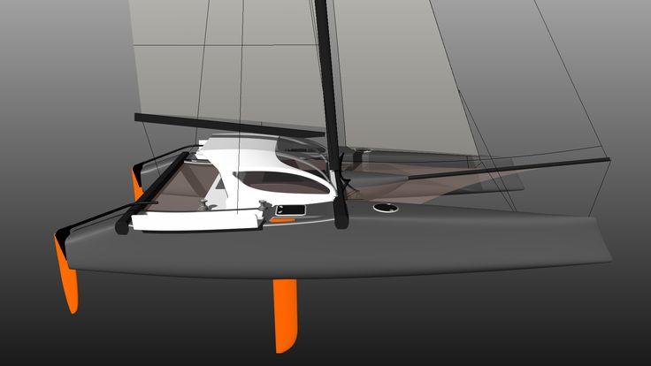 Nacelle option | Design Catamaran inc.