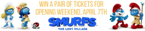 Win Two Free Movie Tickets for Smurfs: The Lost Village! #SmurfsMovie #Giveaway
