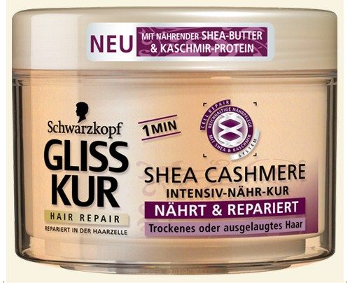 Schwarzkopf Gliss Kur Shea Cashmere mask