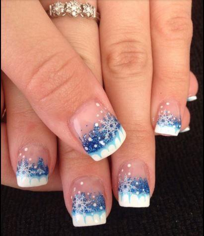 manicure neve | #christmas #Idea #tips #nails #nailsart #xmas #manicure