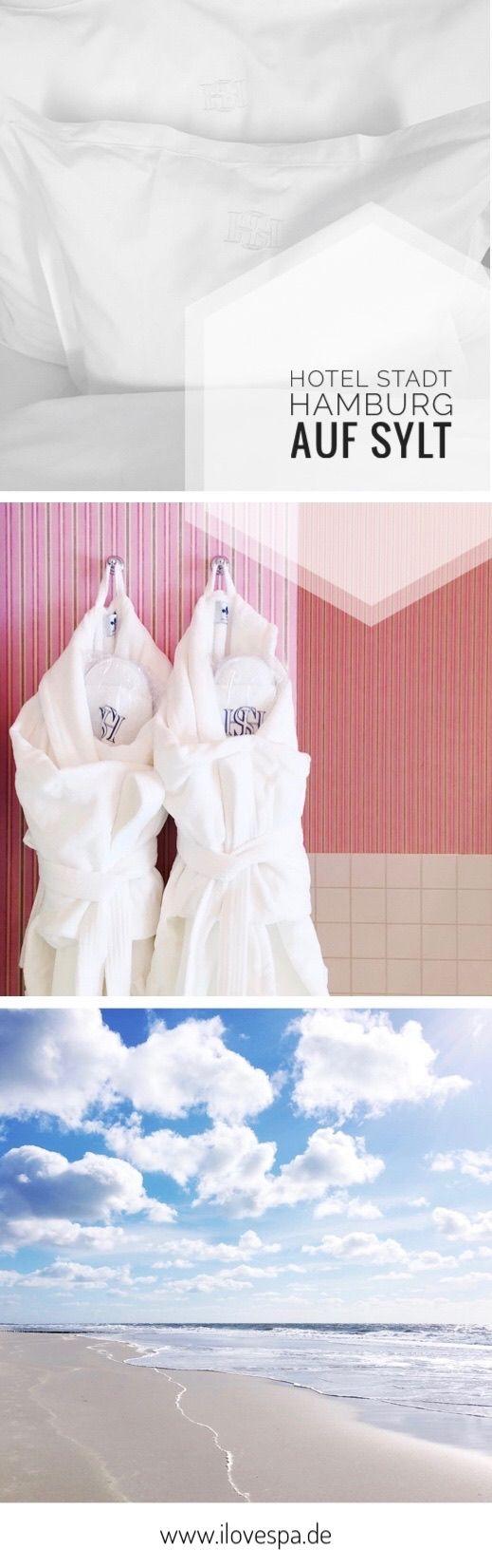 Spa und Wellness auf Sylt - Auszeit im Hotel Stadt Hamburg Sylt