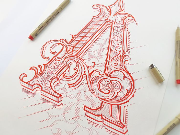 If there's one thing I suck big time at is hand writing. Despite calligraphy classes, a lot of work I never got to a point that I felt comfortable. That is not that case of Mateusz Witczak.