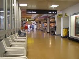 Launceston Airport  - Before the refurbishment