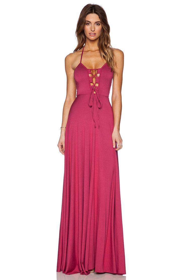 robe en Amaryllis | revolve