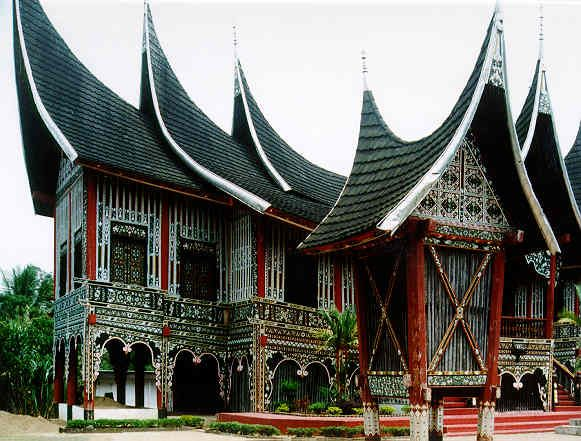 Gadang House, West Sumatera, Indonesia.