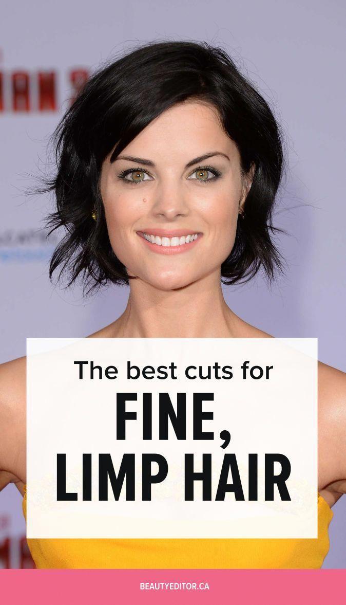 The Best Haircuts For Fine Limp Hair Beautyeditor Bobhairstylesforfinehair Thin Hair Haircuts Short Thin Hair Limp Hair