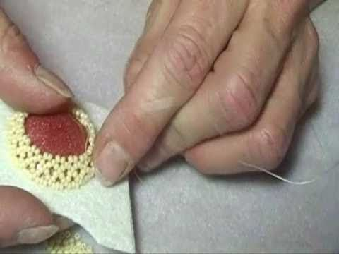 I love her tutorials. I actually was able to watch it once and then bead my resin cabochon.