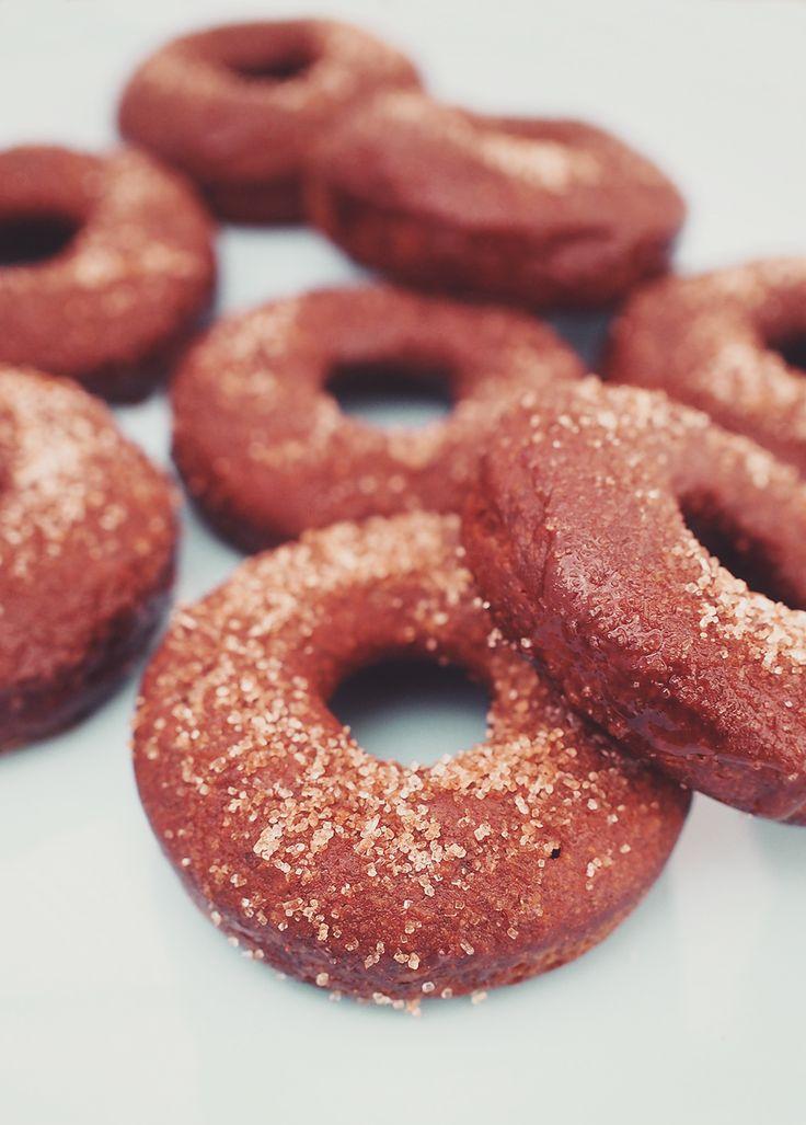 Pumpkin cinnamon donuts / vegan / gluten-free