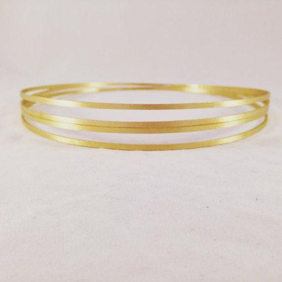 Stefana & Stefanothiki / Greek Orthodox Crowns / Στεφανα Γαμου / Greek Tiaras / Wedding Crowns. Gold Plated / Rose Gold Plated / Platinum Pl