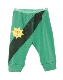 Medium Length Pants: Green