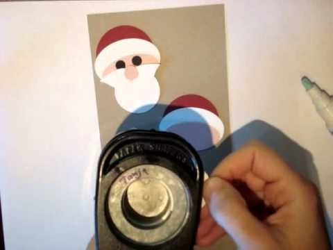 Santa punch art video