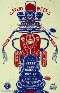 Modern Vintage Saturdays @ Commonwealth Bar & Stage | Calgary | Alberta | Canada