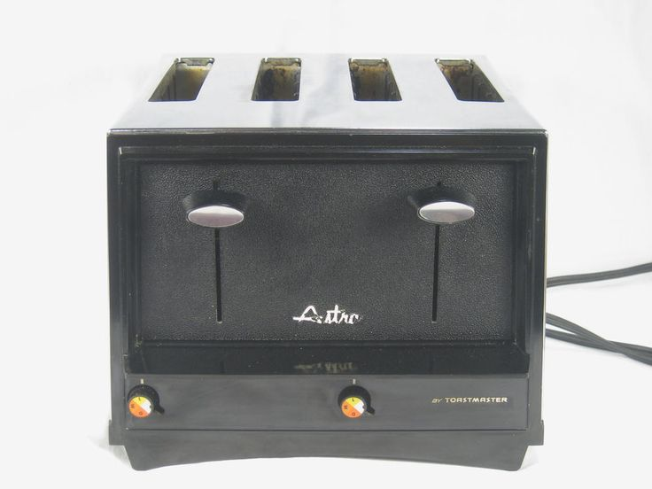 #Vintage 4 Slice #Toastmaster #Toaster #Astra #Chrome #MidCentury #Retro #Atomic D131 #forsale