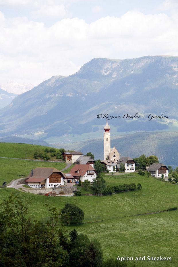 The High Plateau of Renon / Ritten in South Tyrol Trentino alto Adige, Italia