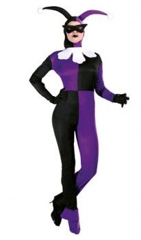 Disfraz de Bufón Siniestro para mujer