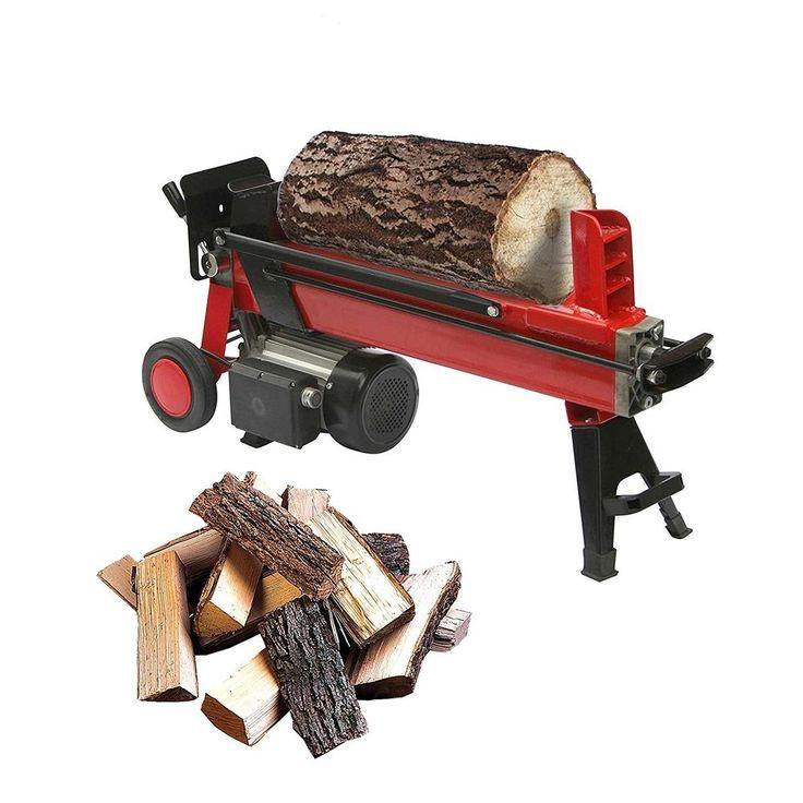 Electric Wood Splitter 1500 Watt Electric Log Splitter Red  #GudCraft