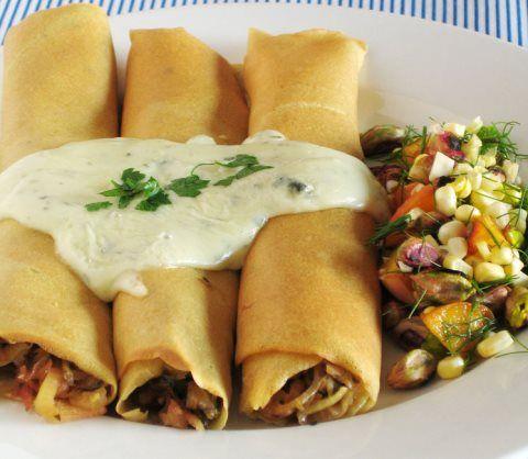 Crepes de puerro y queso ¡Una receta fácil y deliciosa!   #Crepes #CrepeDePuerroYQueso #RecetaDeCrepes #HacerCrepes #CrepesCaseras #CrepesSaladas #RecetasLigeras #RecetasFáciles #RecetasVegetarianas #CocinaVegetariana #Veggie