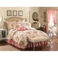 Mary Jane Farm Vintage Romance King-size Quilt (King) (Cotton, Floral)