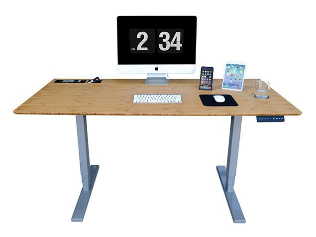 Personal Electric Adjustable Tech Desk Design For Your Home Office or Apartment #Unbranded #Modern