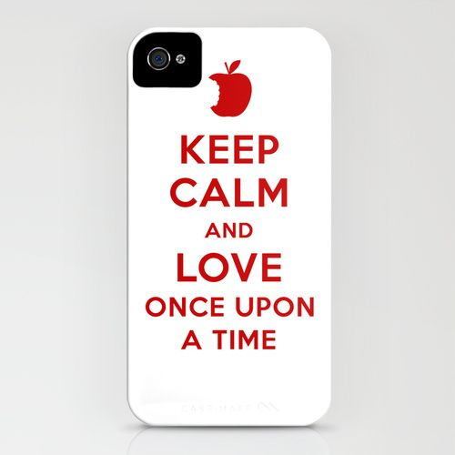 Keep Calm and Love Once Upon a Time iPhone Case