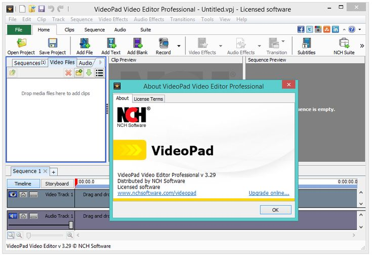 NCH VideoPad Universal Crack / Serial Number ...