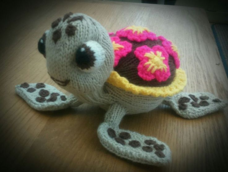 SQUIRT the TURTLE Knitting Pattern