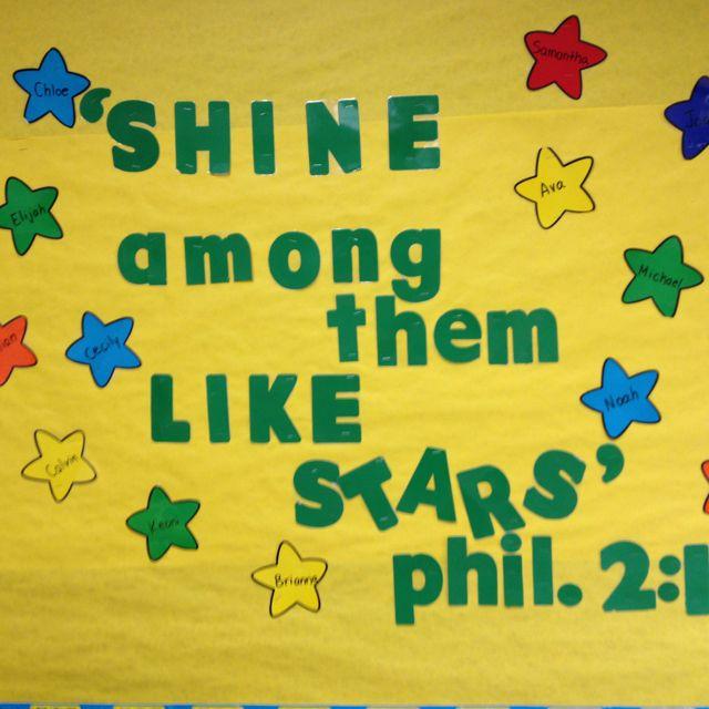 My classroom bulletin board