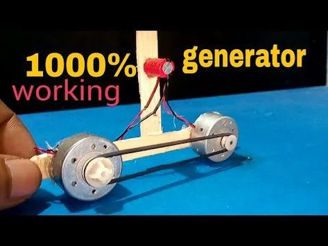 20v Energy Generator How To Make A Mini Generator At Home