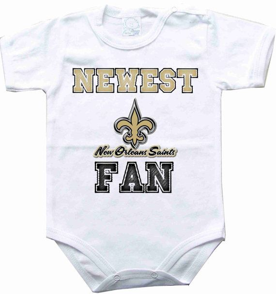 New orleans saints Fans and Babies on Pinterest