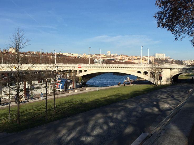 Pont Wilson bridge Lyon France