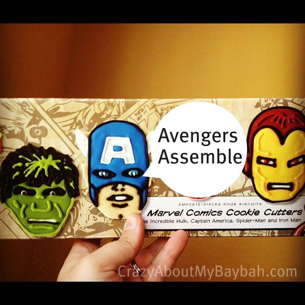 Learn how to make Avengers Crafts for Kids with Avengers Cookie Cutters from Williams-Sonoma and Model Magic by Crayola.