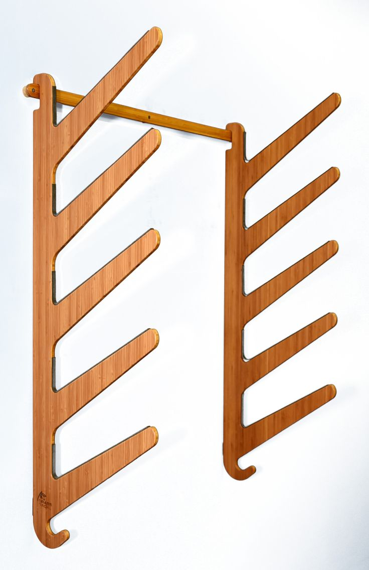 Bamboo Wall Rack for Awesome Surfboards. Surfer tested, Mother approved. Our…