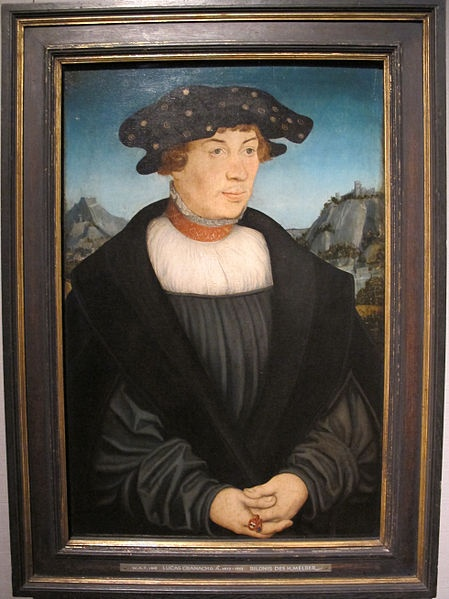Cranach the Elder, Portrait of Hans Melber, 1526