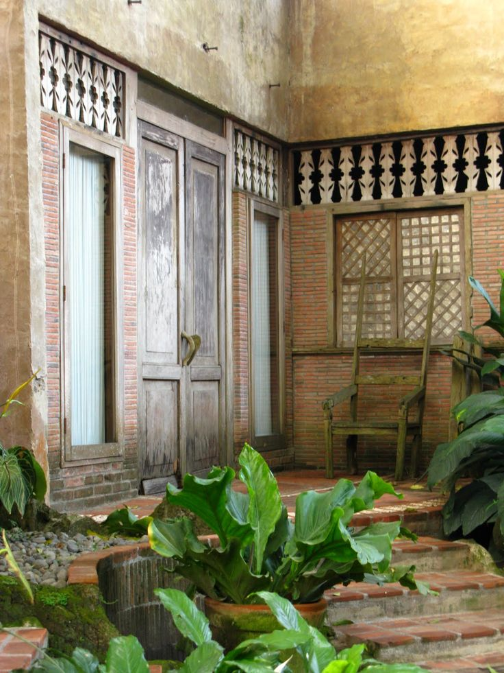Filipino style philippine house pinterest for Traditionelles thai haus