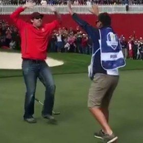 Move over Phil Mickelson, this European Tour pro is the new master of the backwards flop shot - Golf Digest