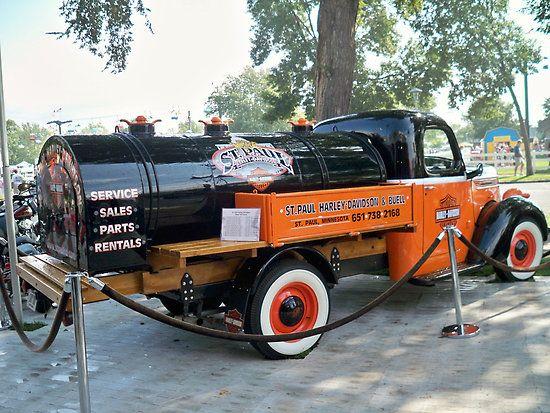taylormade2me:  Vintage Harley Davidson Truck