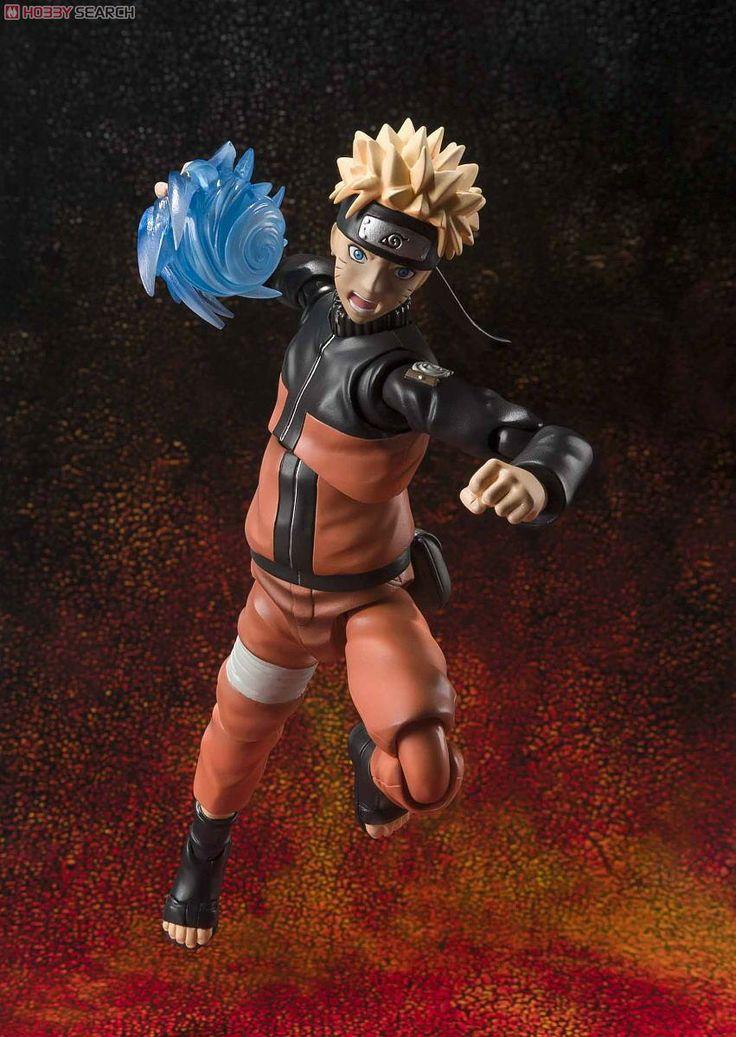 [BANDAI] Naruto Shippuden: Figura de ação S.H. Figuarts do ninja Naruto