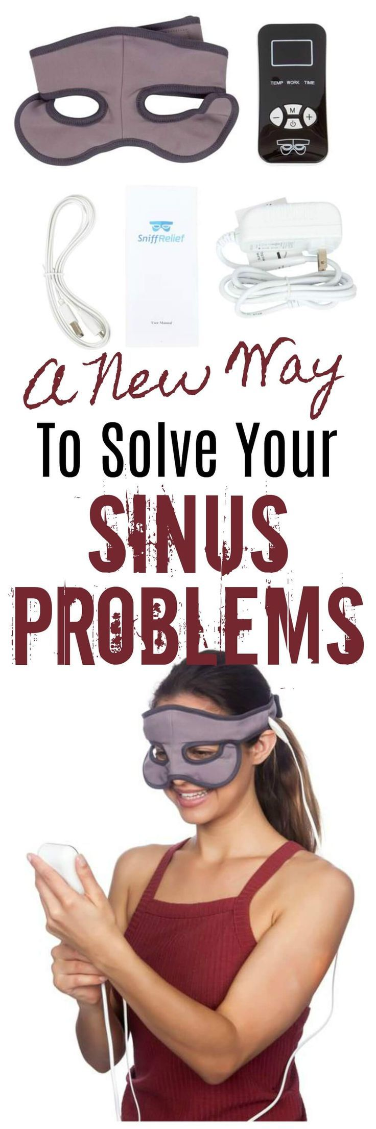 A New Way To Naturally Solve Your Sinus Problems - It's called Sniff Relief  @socialsniffreliefcom  #ad #coldandflu
