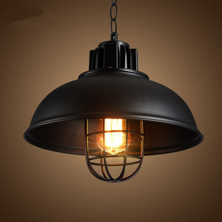 Find More Pendant Lights Information About Vintage Retro Black Lamp Kerosene Hanglamp Loft Cage Kitchen Luminaire Home Lighting Light