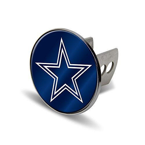 NFL Dallas Cowboys Laser Cut Metal Hitch Cover, Large, Silver  http://allstarsportsfan.com/product/nfl-dallas-cowboys-laser-cut-metal-hitch-cover-large-silver/  Officially licensed product Metal hitch cover Laser-cut acrylic logo