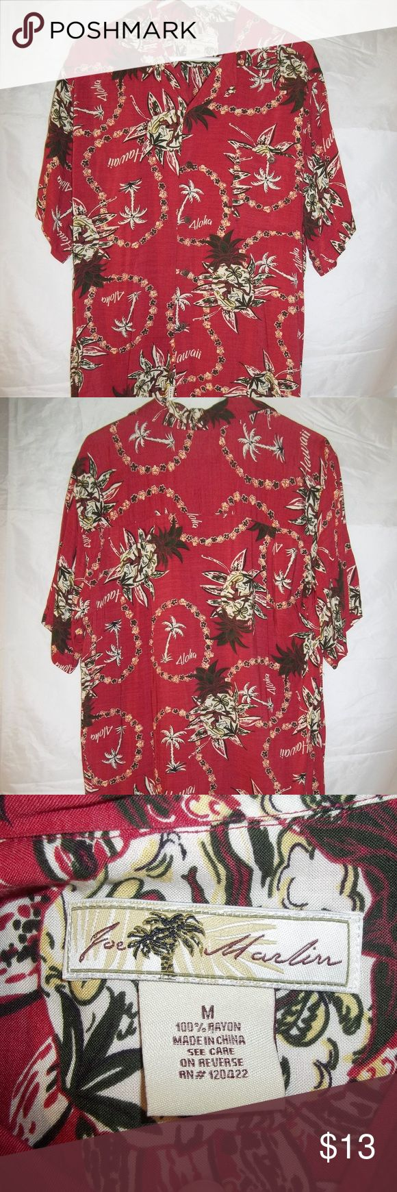 I just added this listing on Poshmark: Joe Marlin Hawaiian Shirt Button Men's Size Medium  #shopmycloset #poshmark #fashion #shopping #style #forsale #JoeMarlin #shirt #hawaiian #clothing #clothes #apparel #mens #mensfashion #menswear #mensstyle #poshmarkapp #poshmarkcloset