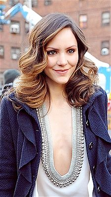 Katherine McPhee's gorgeous hairstyle.