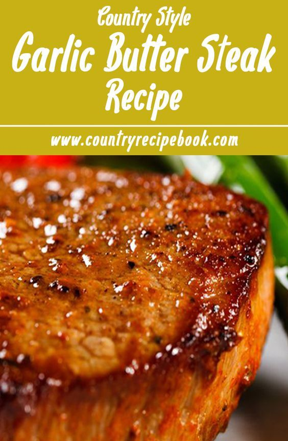 Sirloin Beef Steak with Garlic Butter recipe. This simple recipe is amazing and…